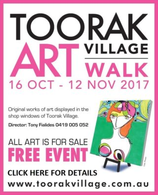 TOORAK Village Art Walk 2