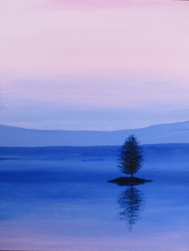 Acrylic Painting by John Pattenden titled A New Day