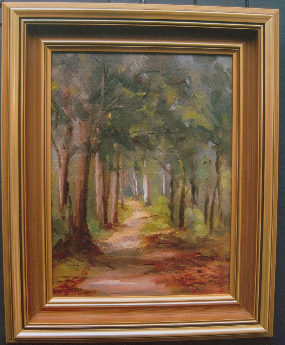 Oil Painting by Beverley Braddy titled Warburton