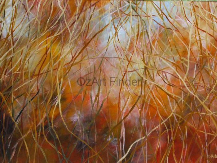 Painting by Dawn Robinson titled Looking Through