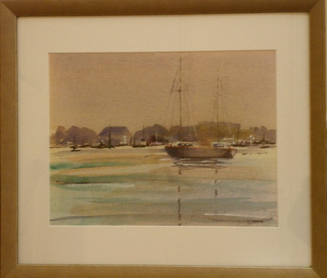 Watercolour Painting by Susan Lanchester titled Williamstown