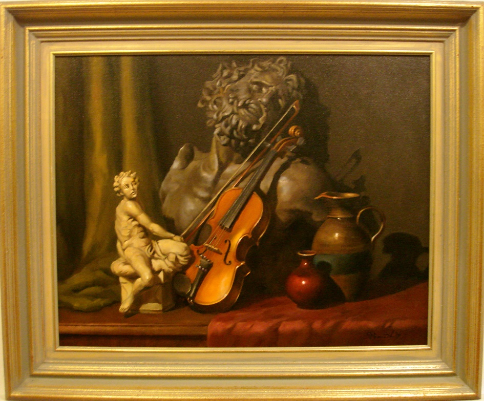Laocoon with Violin - OzArt Finder