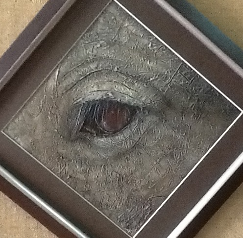 Painting by Ainsley McPherson titled The Eye