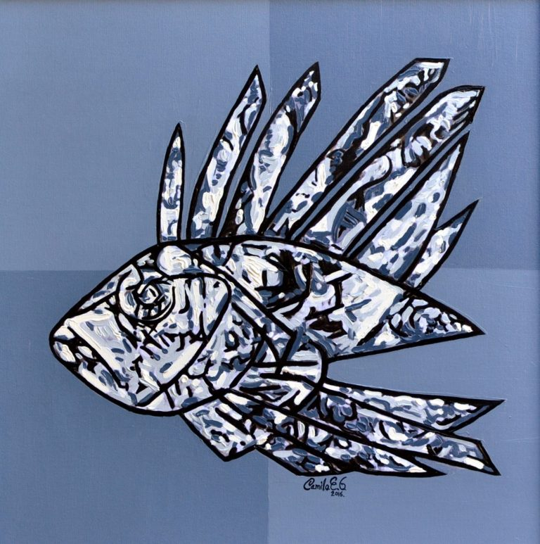 Other Painting by Camilo Esparza-Garcia titled Lionfish