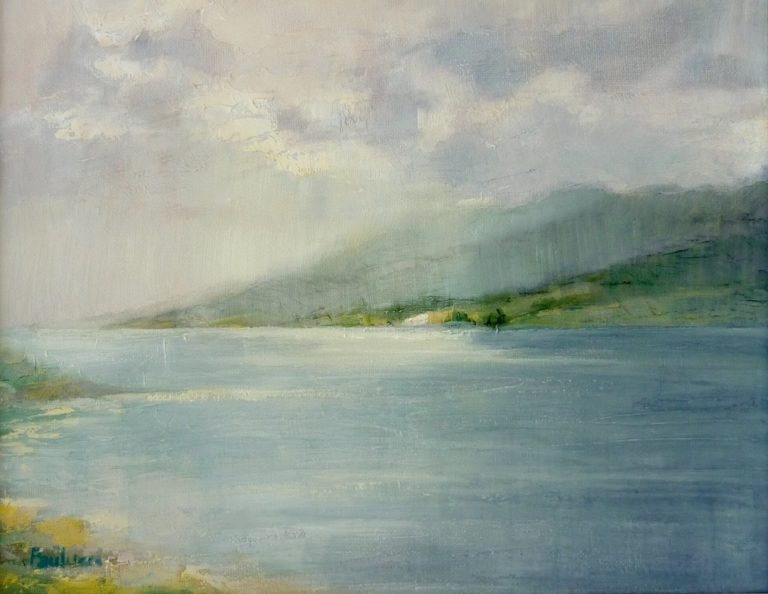 Painting by Helen Paulucci titled Seascape