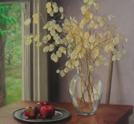 Painting by Helen Paulucci titled Honesty