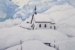 A Lone Chapel in the Swiss Alps-$370