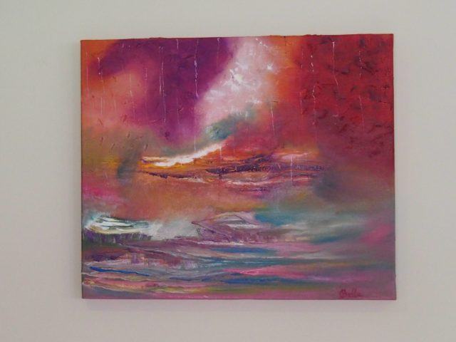 Oil Painting by Belinda McDonnell titled Carm your storm