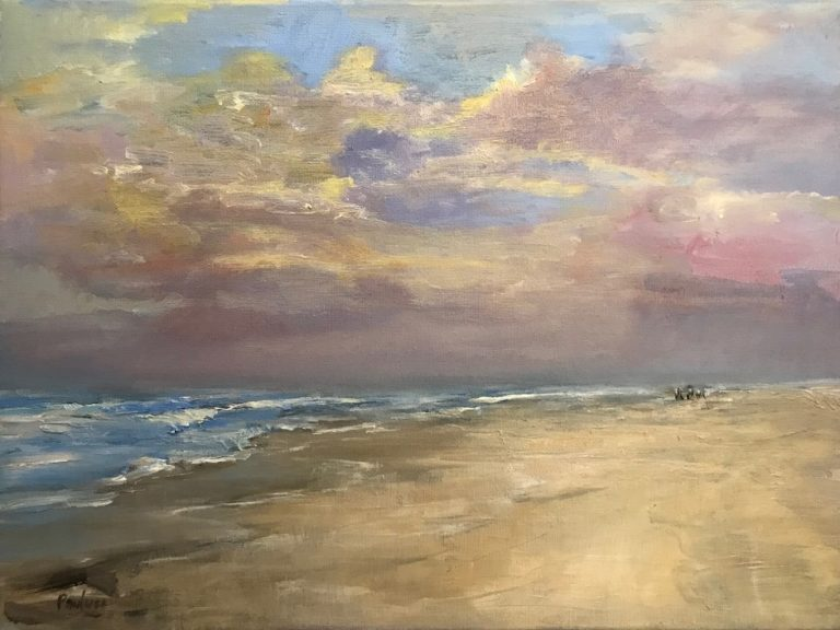 Painting by Helen Paulucci titled Illawarra Morning