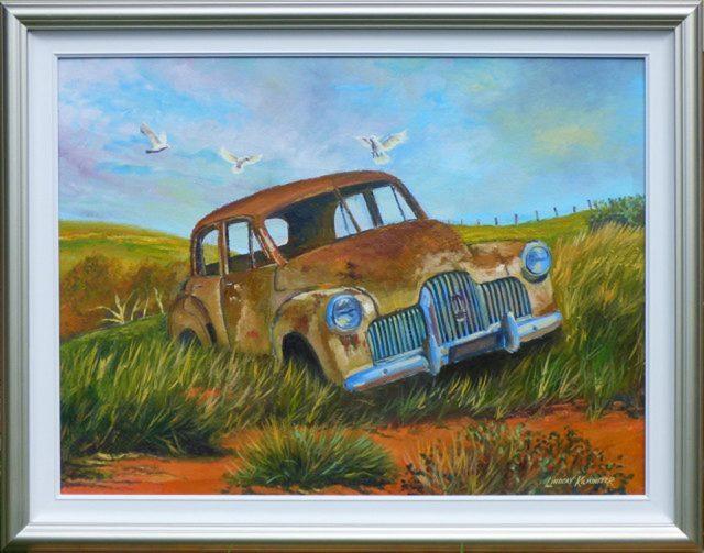 Oil Painting by Lindsay Kilminster titled Restoration Dream