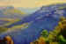original oil painting Princess rock lookout vidal