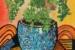 Maiden hair fern in vase