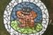 Lyn Ellis-40-Happy Froggy-Round Mosaic Table-OzArt Finder