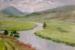 Helen Paulucci - Scottish landscape view across the valley near Braemar