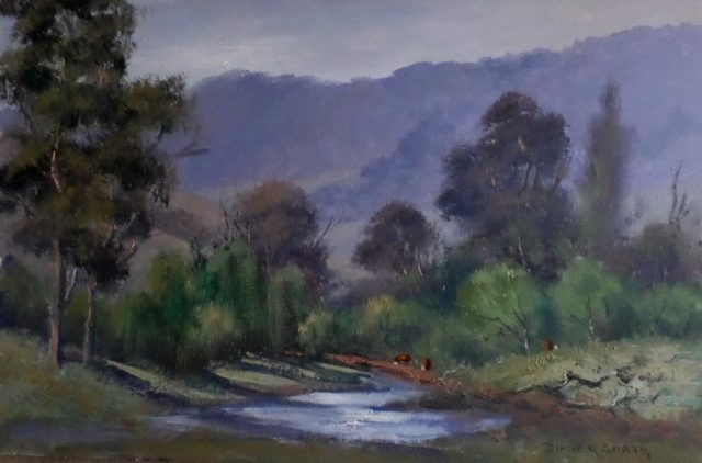 Oil Painting by Diana Garth titled Gilmore Creek