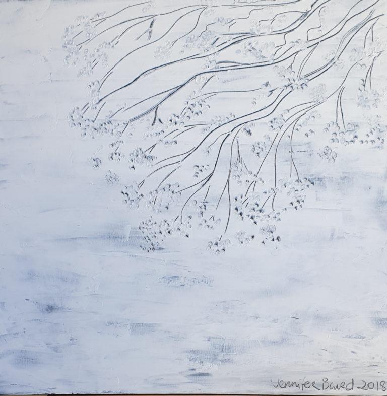 Oil Painting by Jennifer Baird titled Canberra September