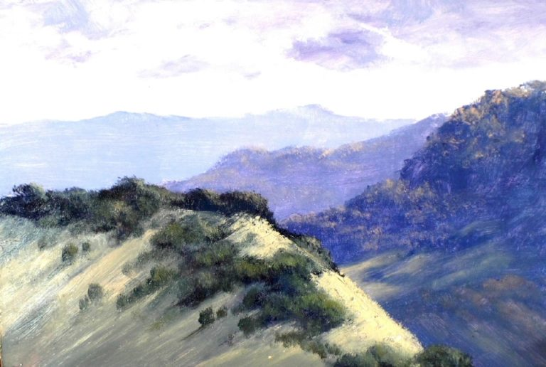 Oil Painting by Diana Garth titled High on the Ridge
