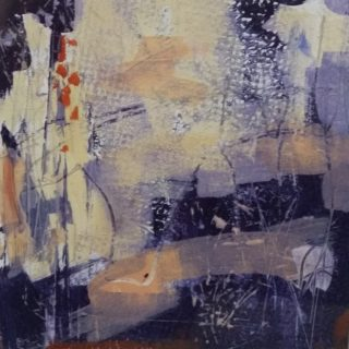 A Mixed Media artwork by Trish Bennett in the Contemporary style  depicting  and titled Untold Story