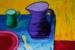 Angela Iliadis-Purple and Green Jugs-d490825f